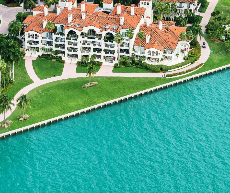 Fisher Island Aerial