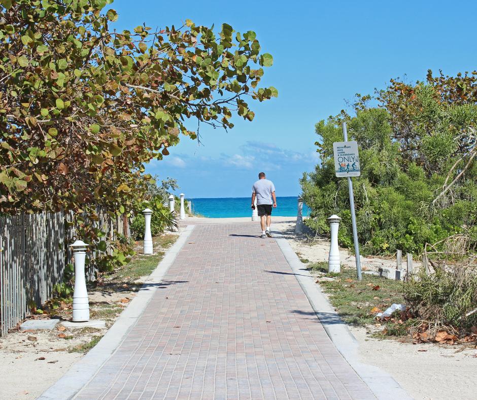 North Beach- walkway