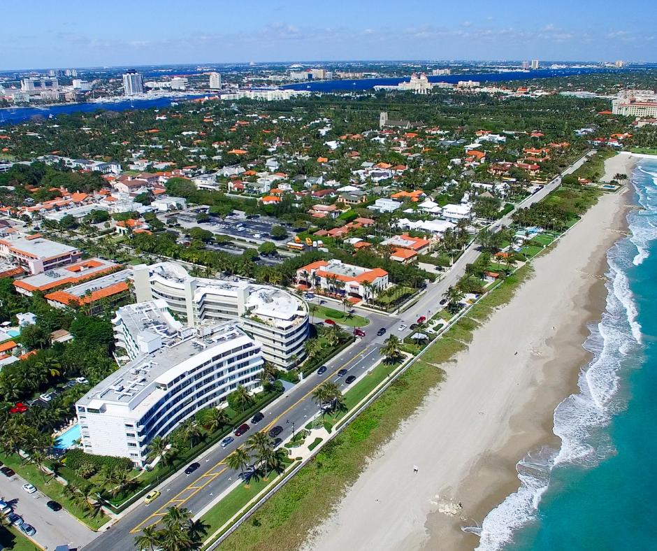 Palm Beach- aerial