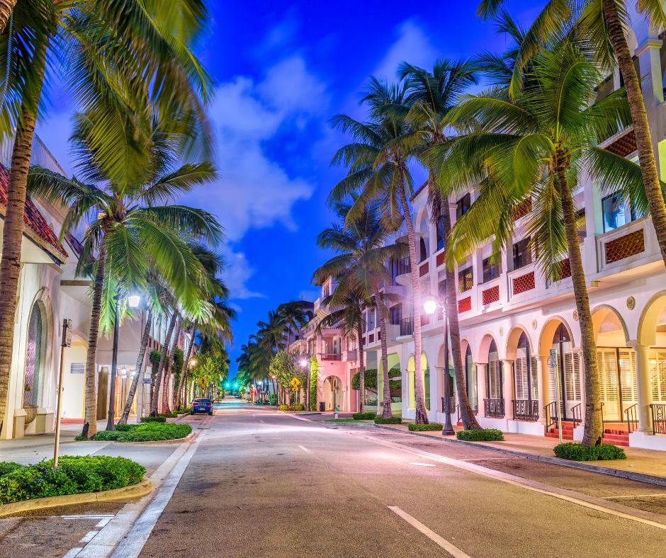 Palm Beach- street