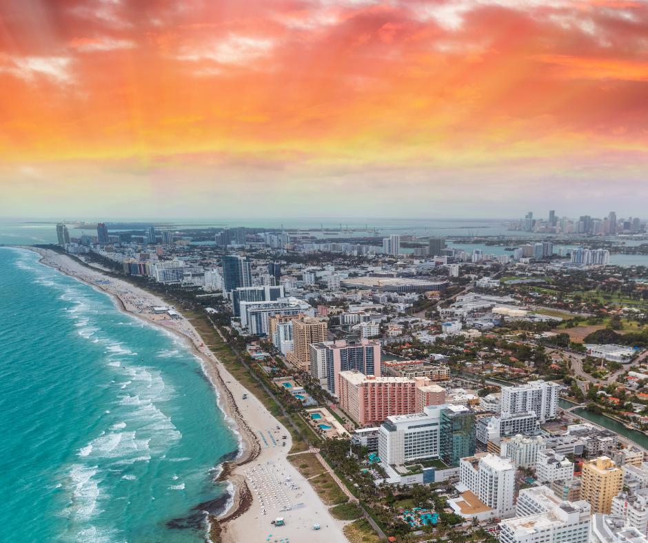 South Beach- aerial