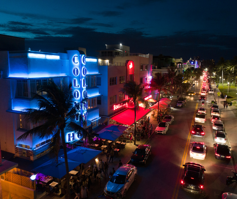 South Beach- night