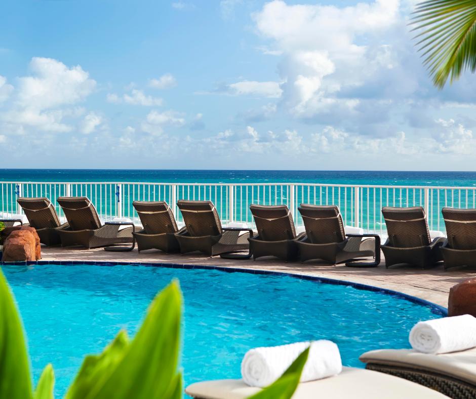 Sunny Isles Beach- Trump pool