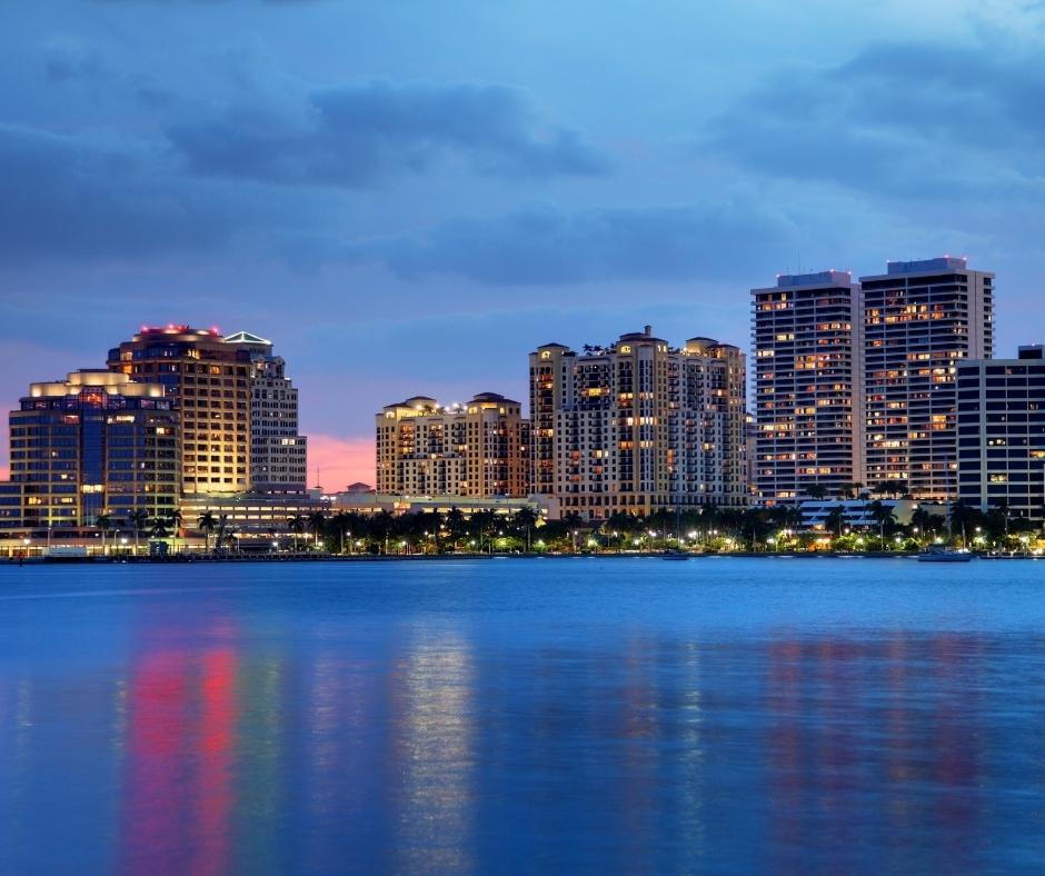 West Palm Beach- skyline